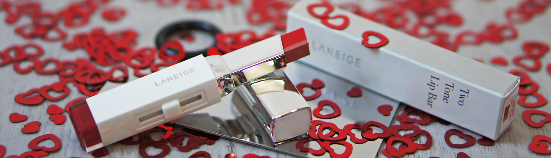 Laneige Two Tone Lip Bar, оттенок Red Blossom