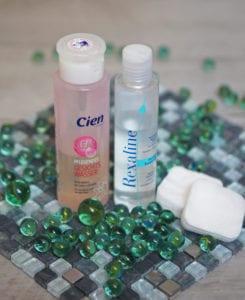 Мицеллярная вода Rexaline и тоник для ее снятия Cien