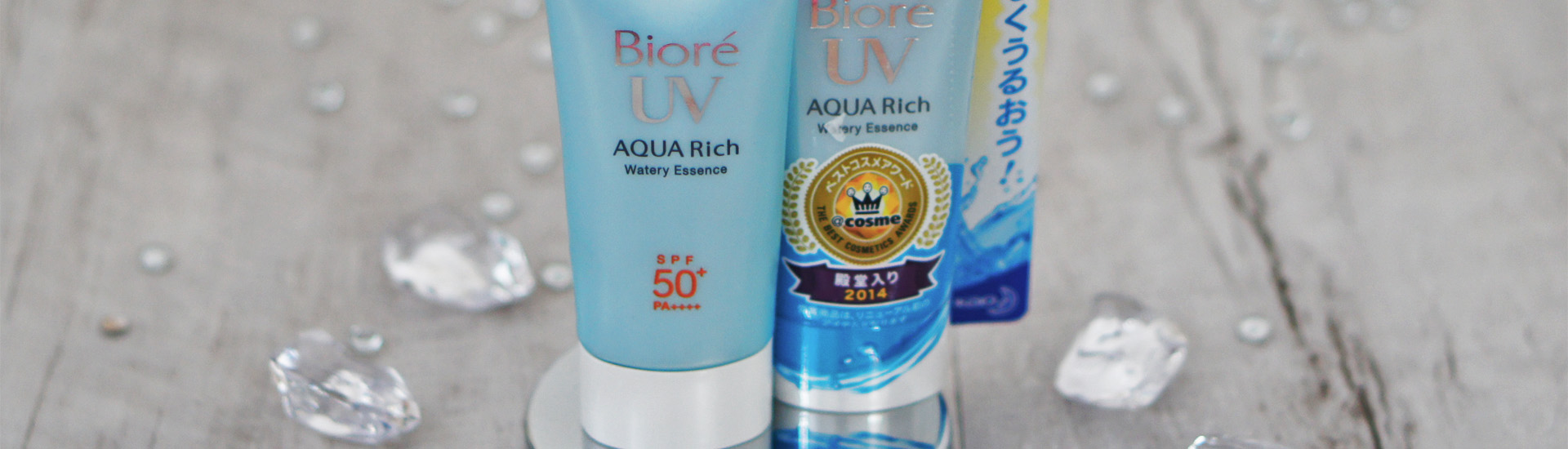 Фавориты: санскрин Biore UV Aqua Rich Watery Essence
