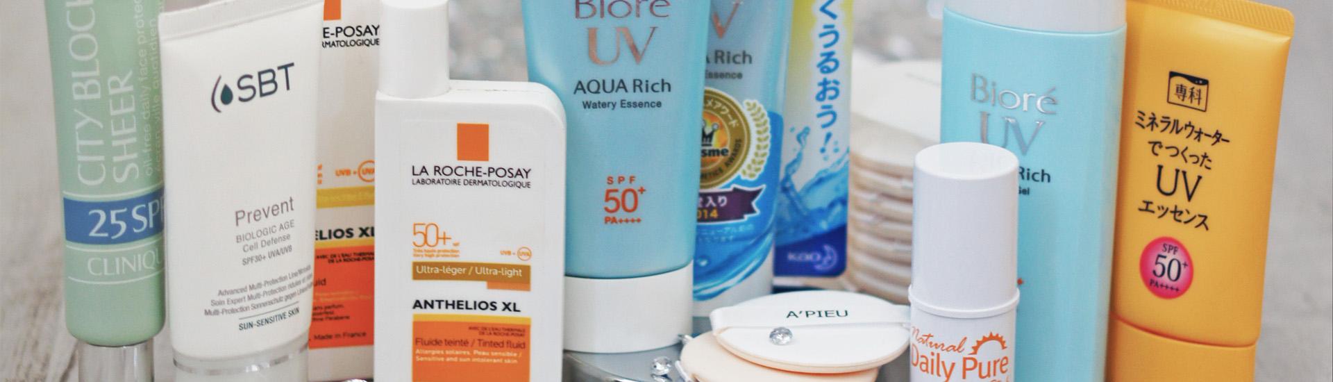 Sunscreens