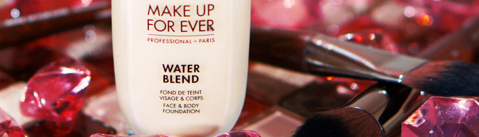 Невесомый тональный Make Up For Ever Water Blend Face and Body Foundation