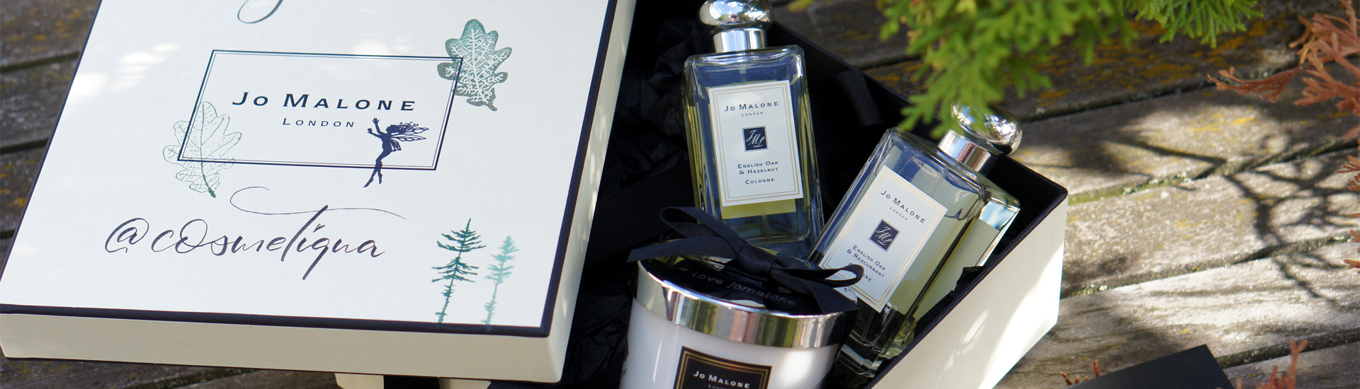 Новые ароматы Jo Malone London English Oak Redcurrant & Hazelnut