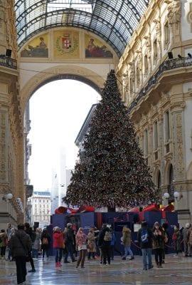 Galleria Vittorio Emanuele Christmas Tree Swarovski