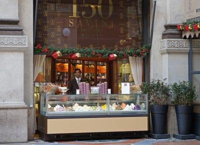 Galleria Vittorio Emanuele Milano Ice Cream Savini