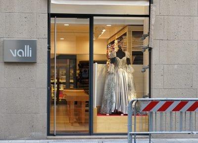 Milano Milan ball gown evening dress милан бальное вечернее платье витрина