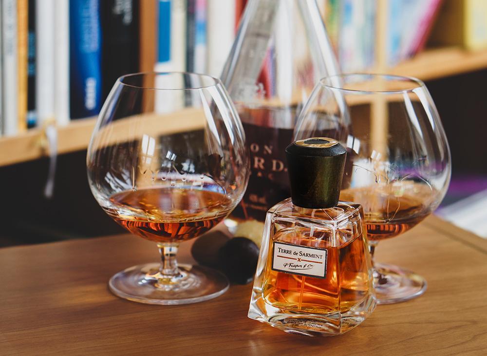 Gourmand Nischenduft von einem renommierten Cognac Hersteller Frapin Terre de Sarment
