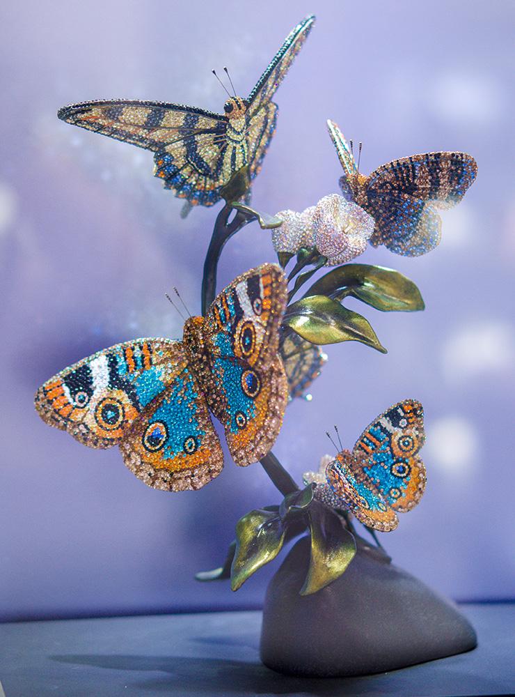 Swarovski crystal crystals Kristall Kristalle Schmuck Kristallstein Swarovski Elements art кристаллы Сваровски стразы Vienna Wien Вена бабочки бабочка butterfly butterflies Schmetterling