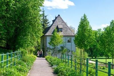 Goethe Haus Weimar дом Гете Ваймер сад дача garten Haus house Garden