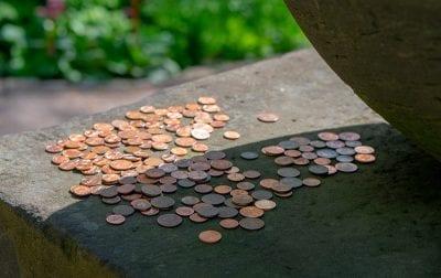 Weimar Goethe Haus Money Coins Münzen Geld монеты деньги