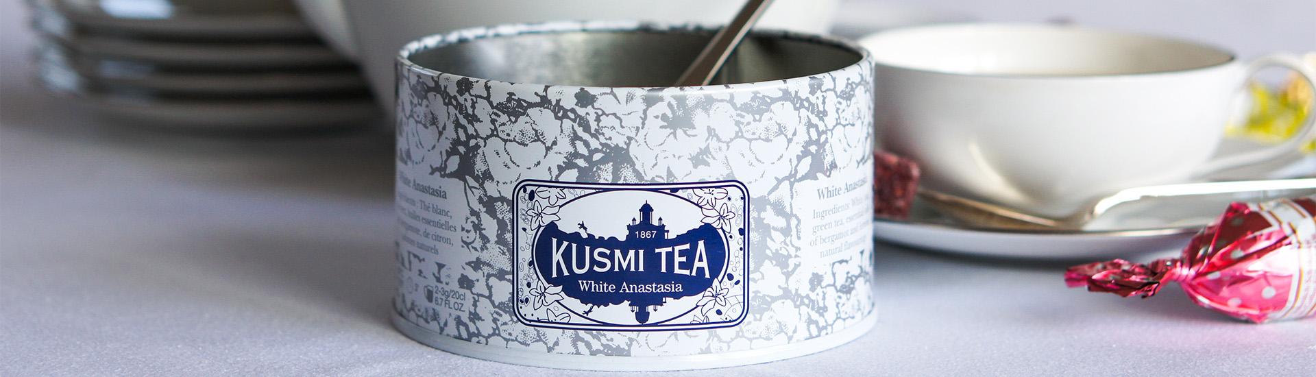 Новый любимый чай Kusmi Tea White Anastasia