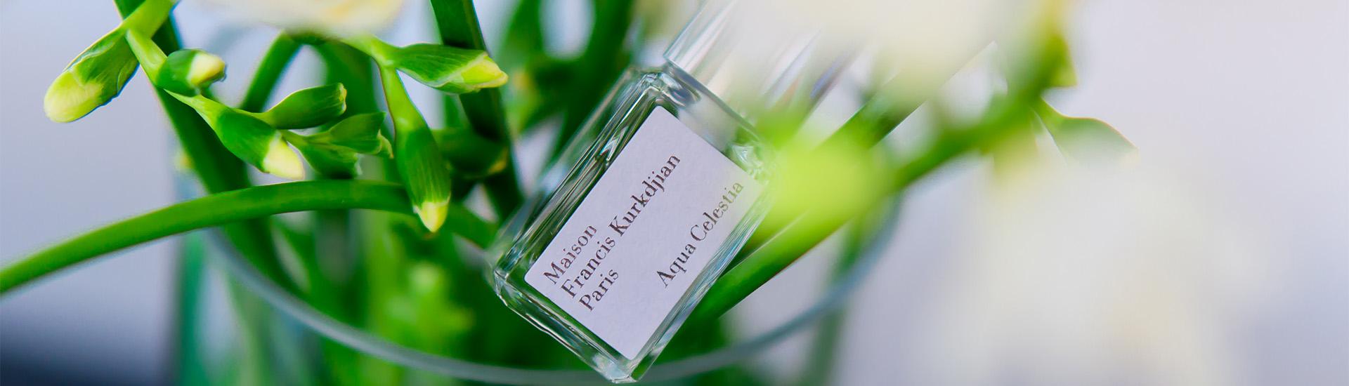 Кристальная свежесть: Aqua Celestia Maison Francis Kurkdjian
