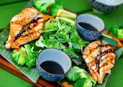 Maison Dang Restaurant Berlin aisan food salmon lachs