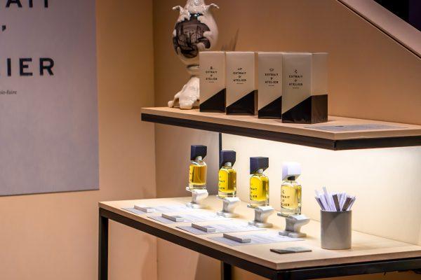 Extrait D' Atelier Pitti Fragranze perfume exhibition niche nischenparfüm duft парфюм духи нишевая парфюмерия