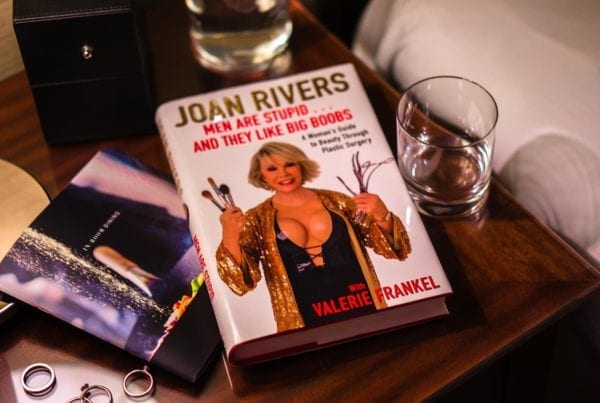 Joan Rivers Men are stupid and they like big boobs book buch книга