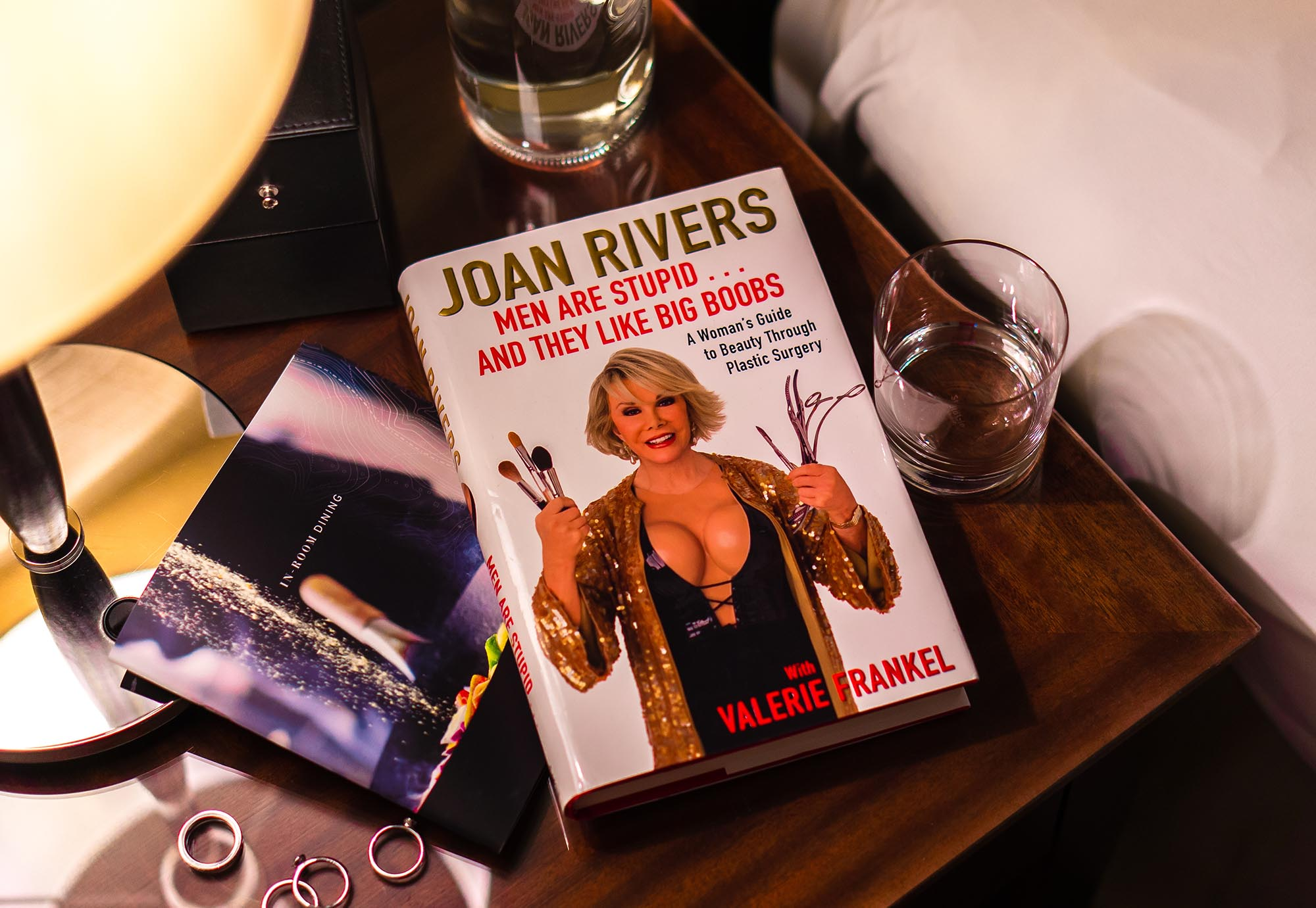Joan Rivers Men are stupid and they like big boobs book