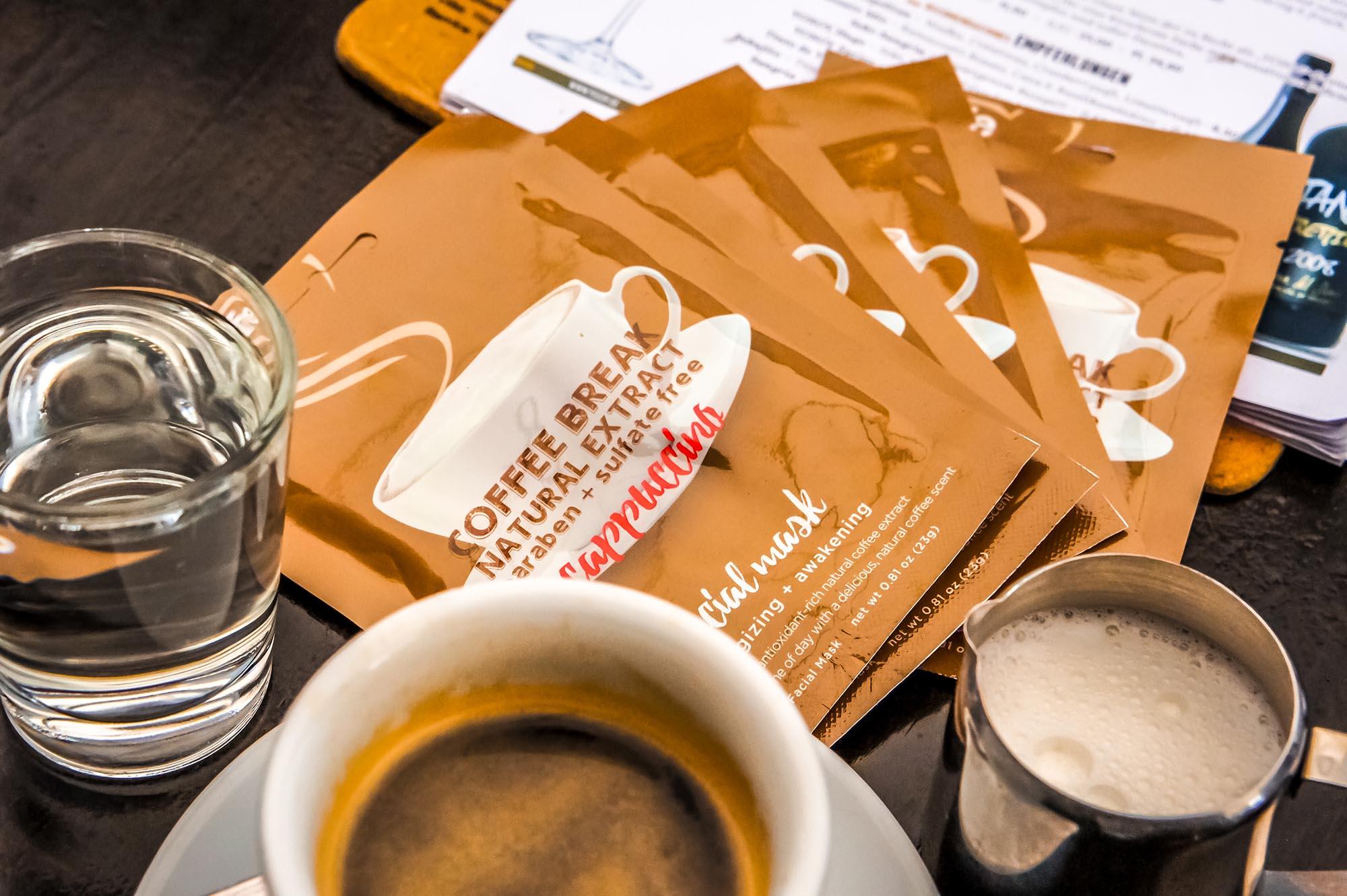 Coffee Break & Gesichtspflege in einem: Tuchmasken mit Kaffee