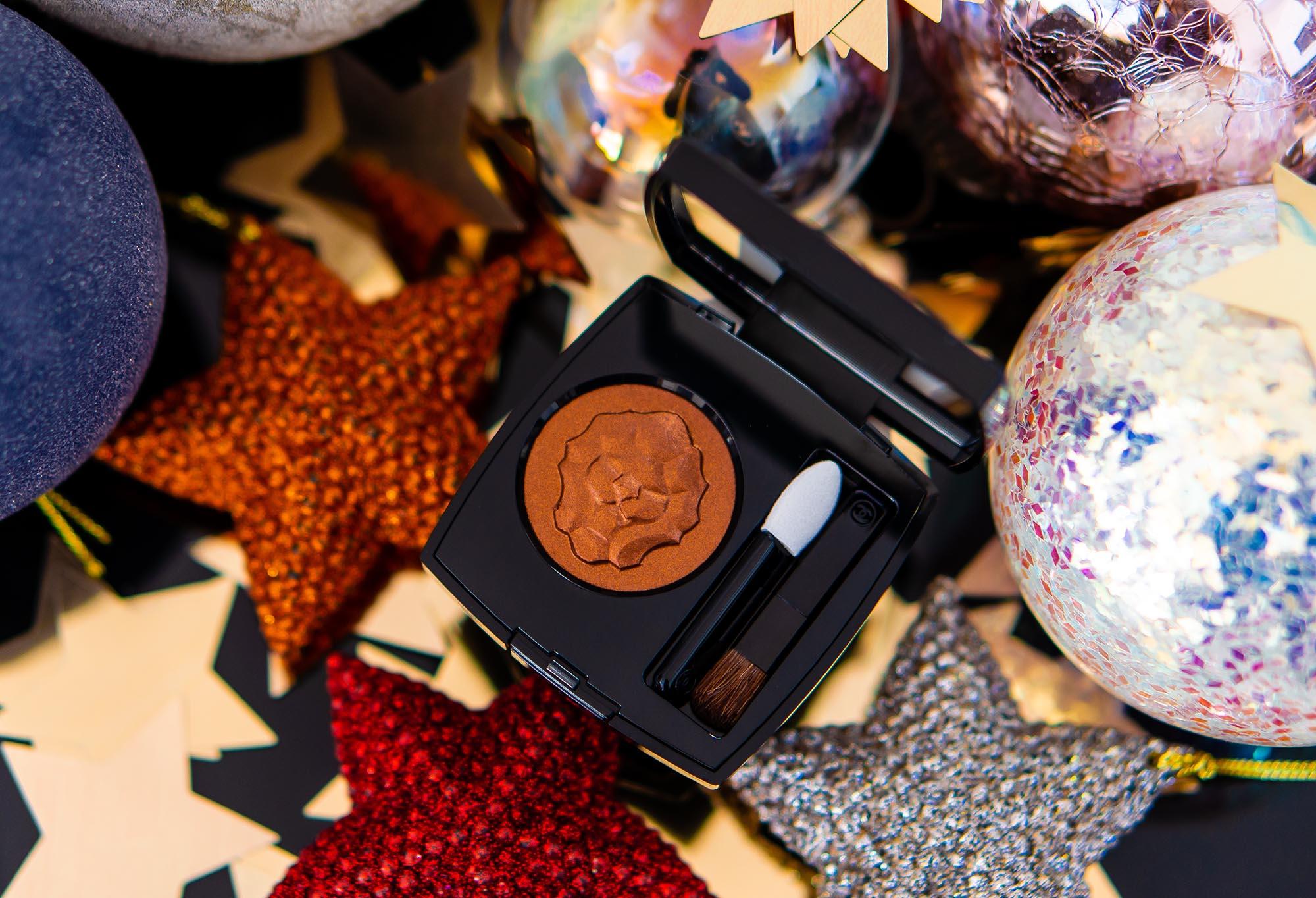 Goldene Löwe zu Weihnachten: Chanel Ombre Premiere Cuivre Lame Lidschatten