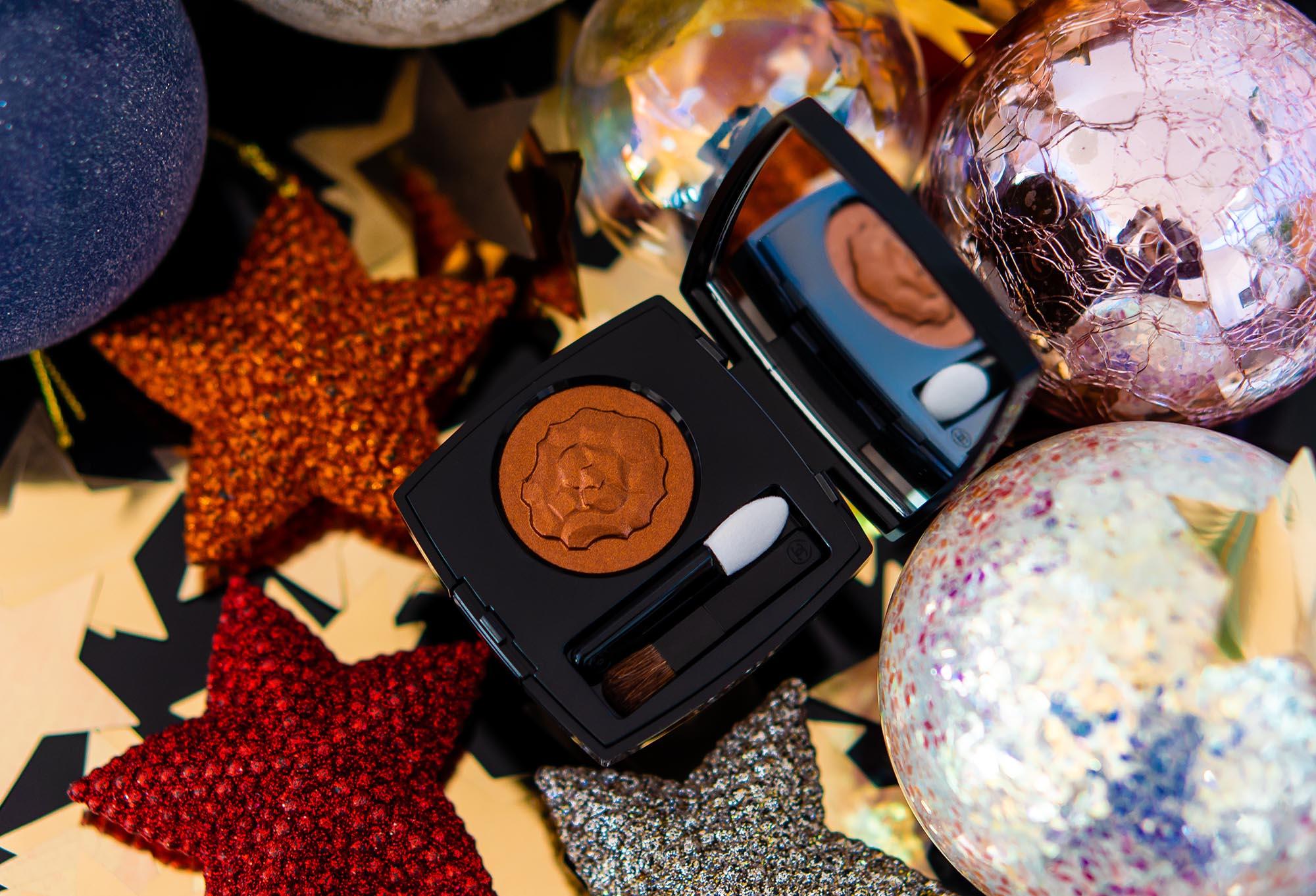 Золотой лев к Рождеству: тени Chanel Ombre Premiere 907 Cuivre Lame