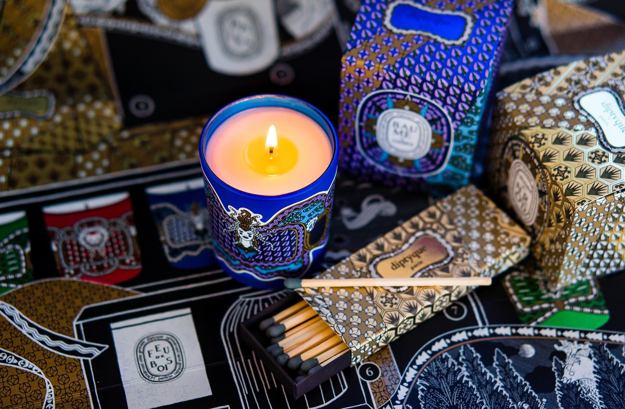 Самая красивая рождественская коллекция года: Diptyque и их парфюмированные свечи