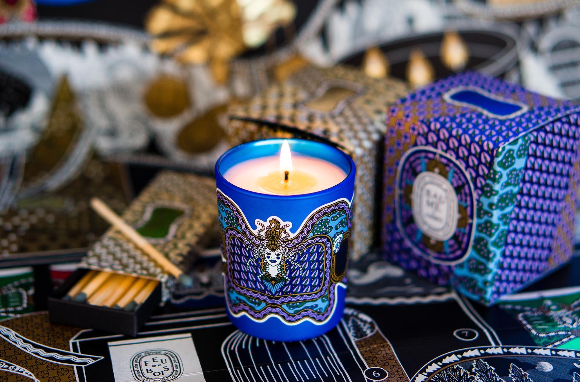 Diptyque Baum D'Ambre Candle Kerze свеча