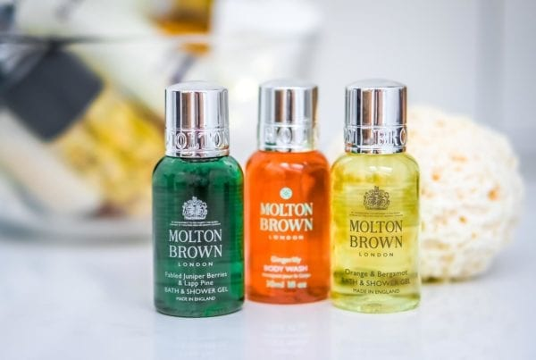 Molton Brown Bath & Shower Gel Gingerlily Lap Pine Orange Bergamot
