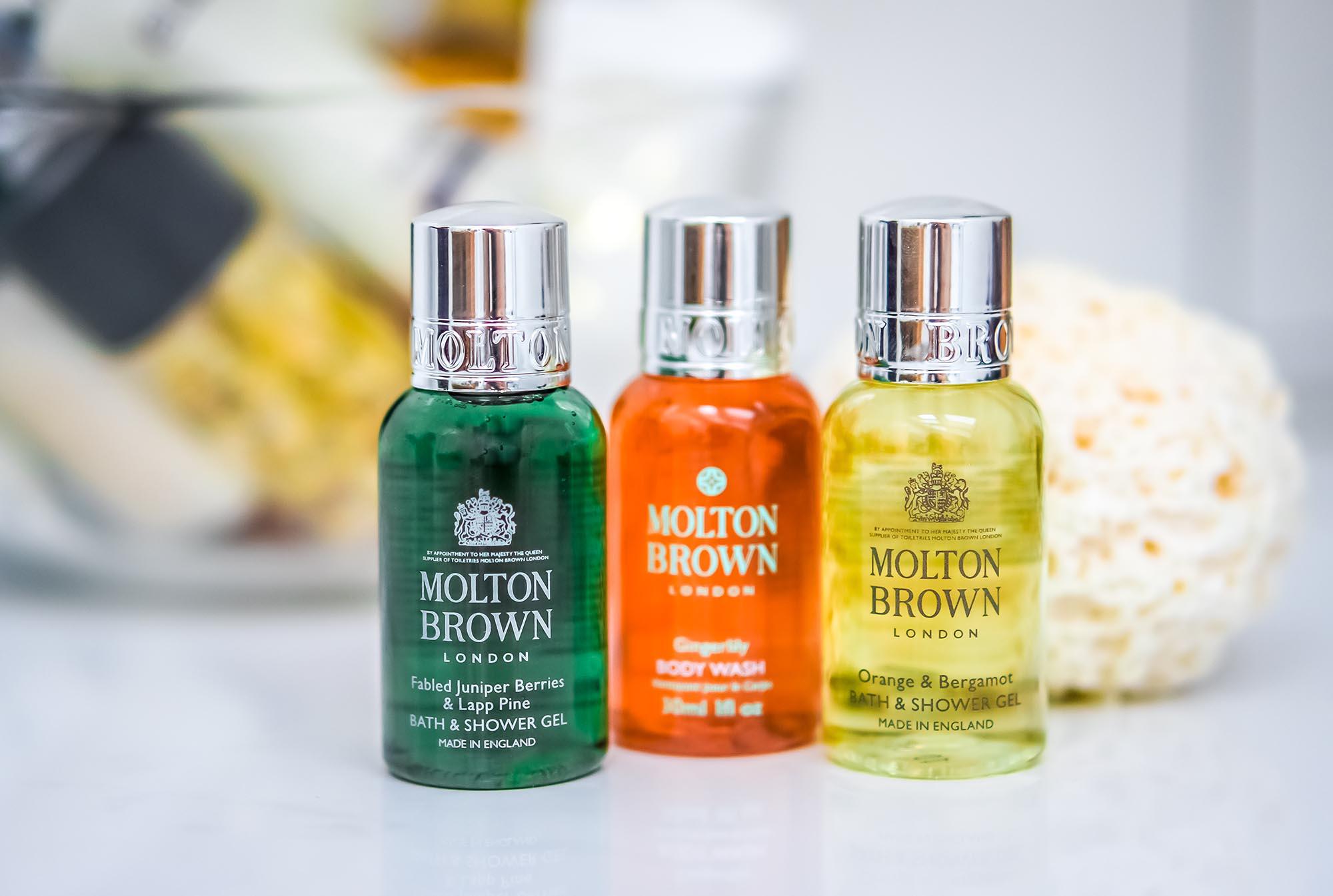 Luxus für den Alltag: Duschgele von Molton Brown
