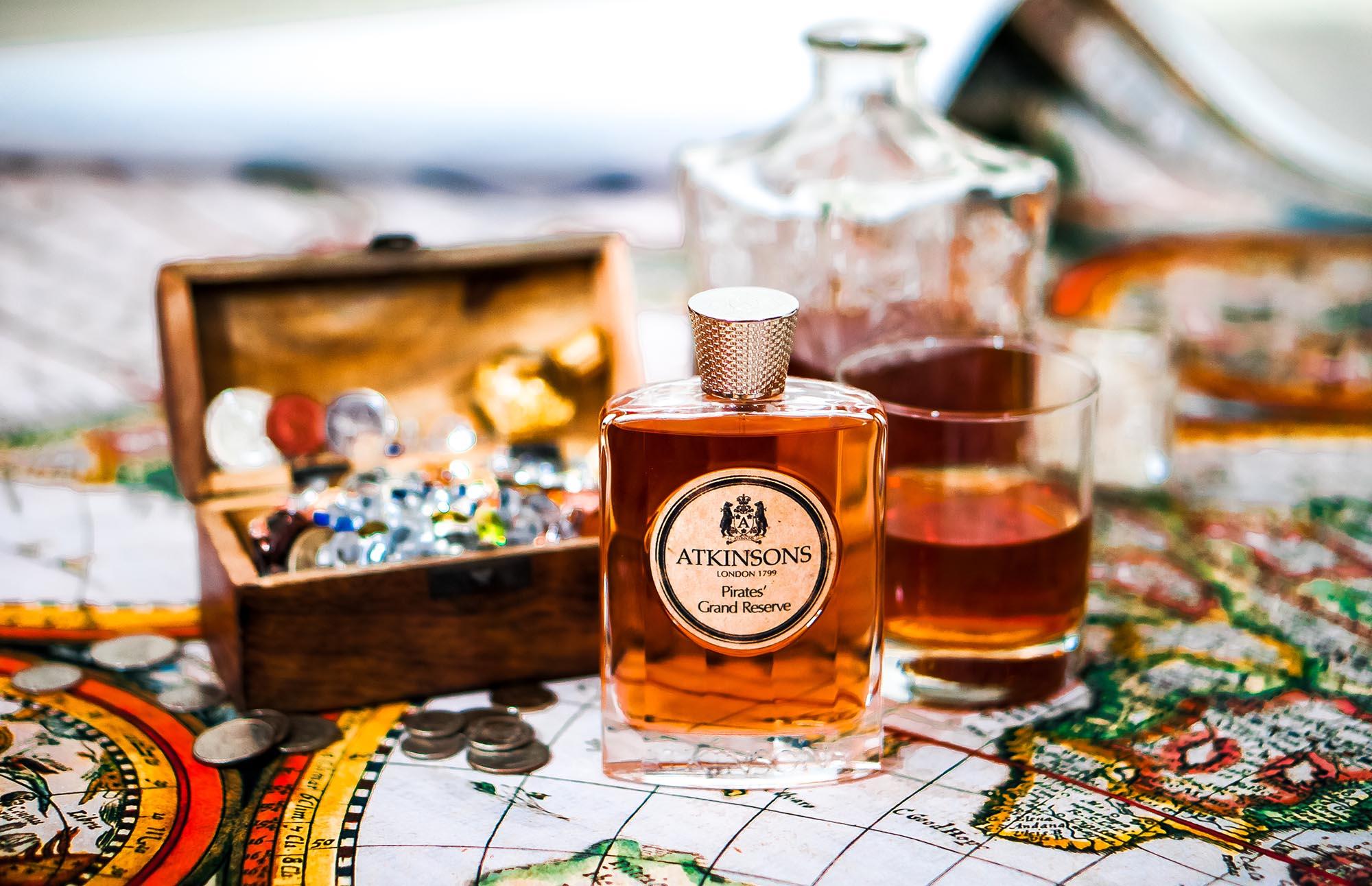 Atkinsons Pirates Grand Reserve Perfume Niche Parfüm парфюм Nischenparfüm