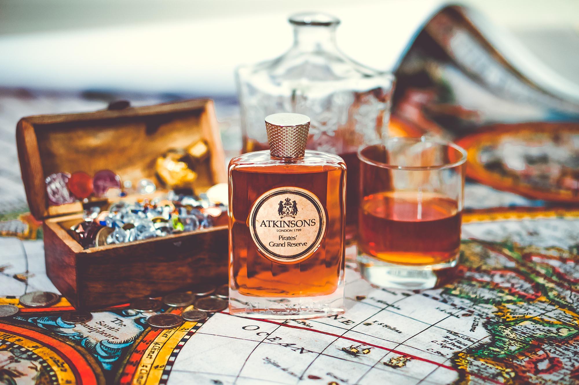 Пираты, ром и один из любимых парфюмов: Atkinsons Pirates' Grand Reserve