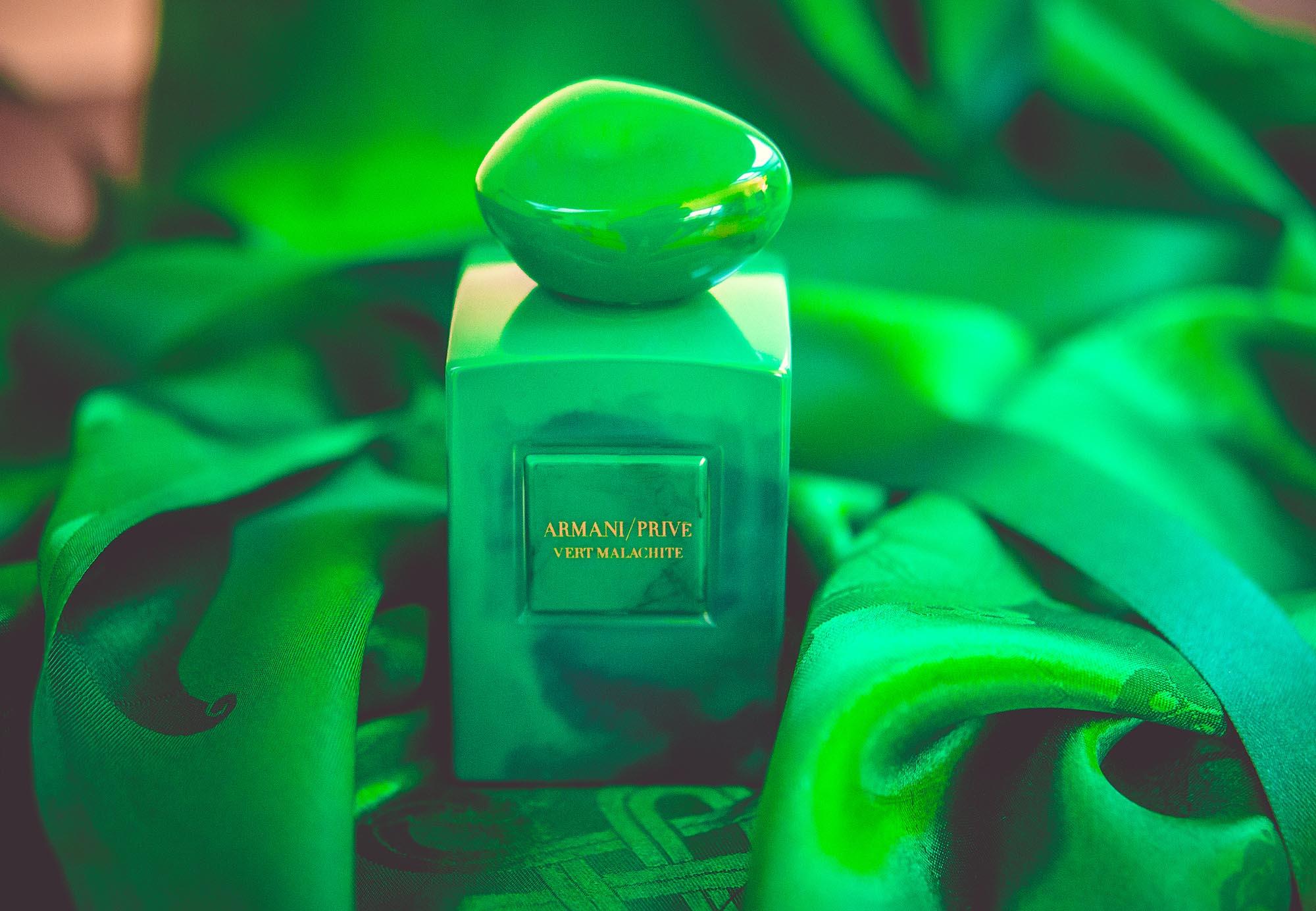 Vert Malachite Armani Prive: русский камень и южные цветы