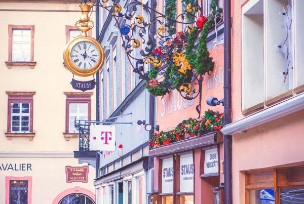 Germany Rottweil Clock town Deutschland Германия