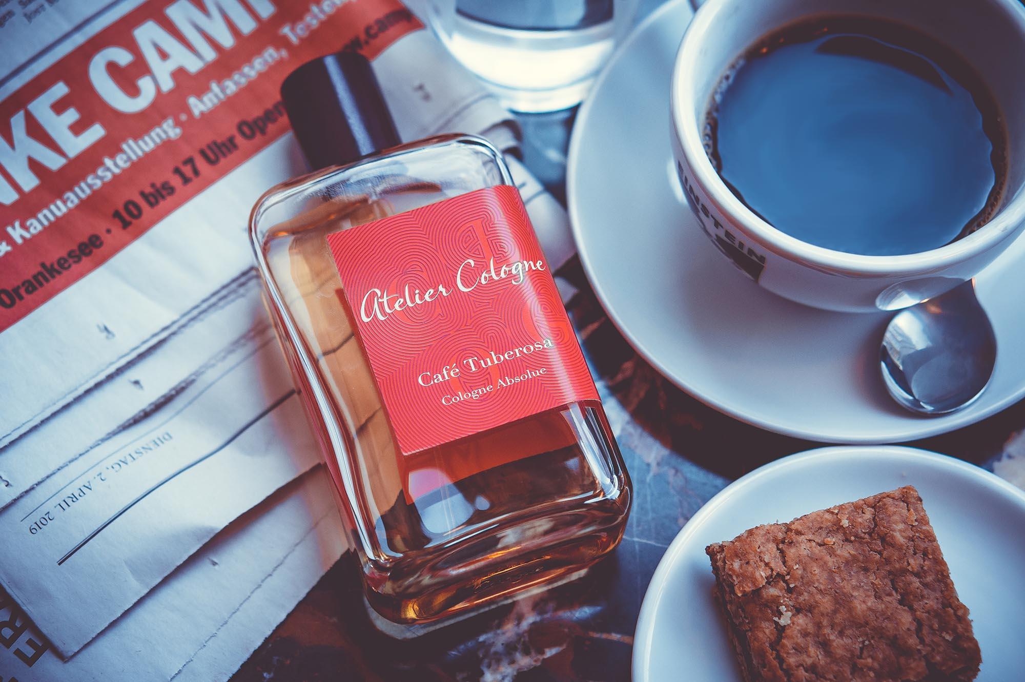 Fantastische Auszeit mit Cafe Tuberosa von Atelier Cologne