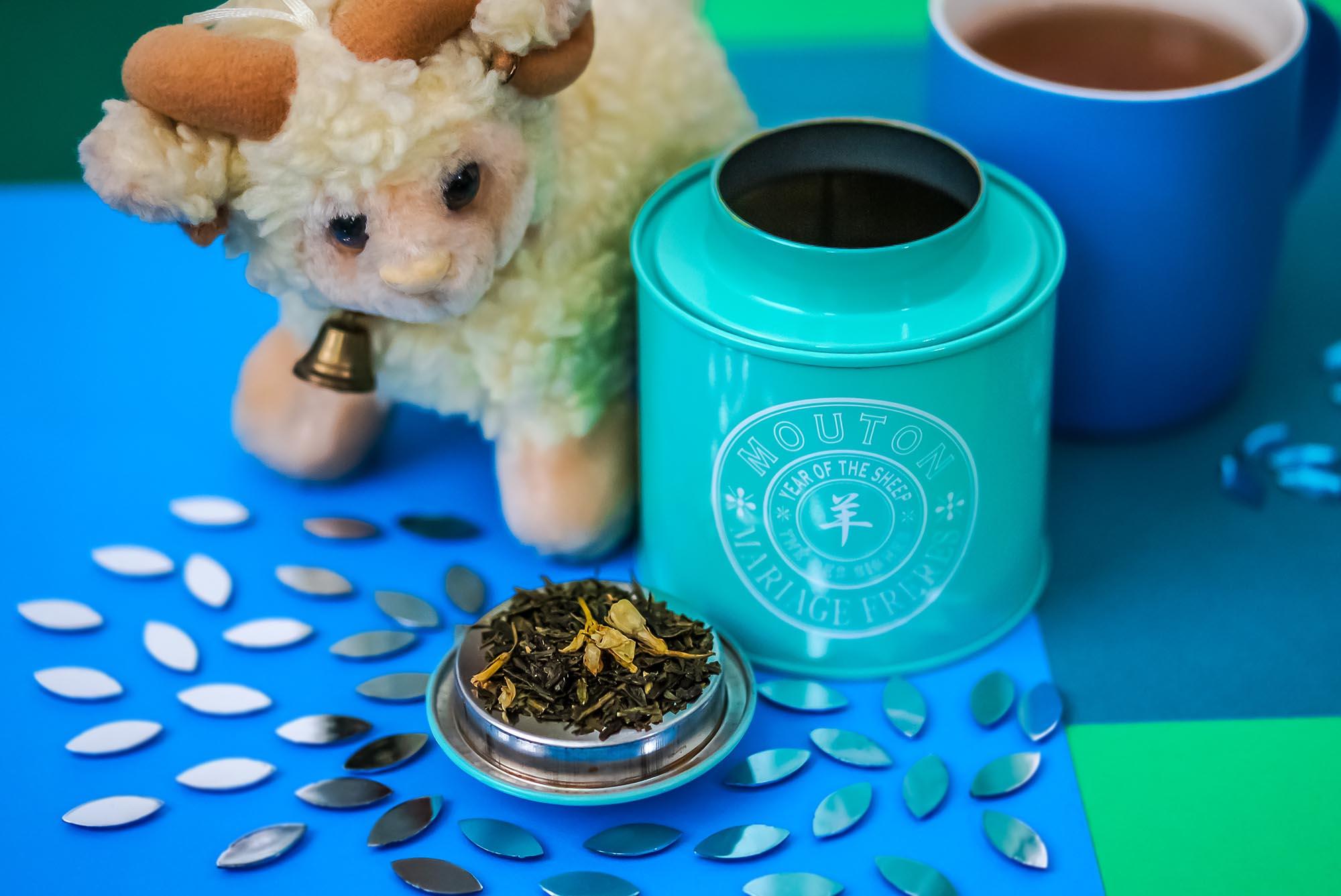 Французский чай, японские авиалинии и Mouton Mariage Freres
