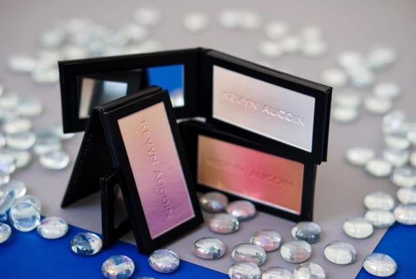 Kevyn Aucoin Neo-Trio Make-up The Neo-Limelight, The Neo-Bronzer, The Neo-Setting Powder Highlighter Blush Puder Rouge косметика макияж хайлайтер бронзер