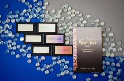 Kevyn Aucoin Neo-Trio Make-up The Neo-Limelight, The Neo-Bronzer, The Neo-Setting Powder Highlighter Blush Puder Rouge косметика макияж хайлайтер бронзер