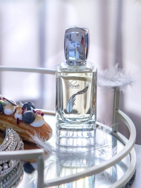 Cosmetiqua niche perfume calender 2020 Plume Impression Etat de Grace