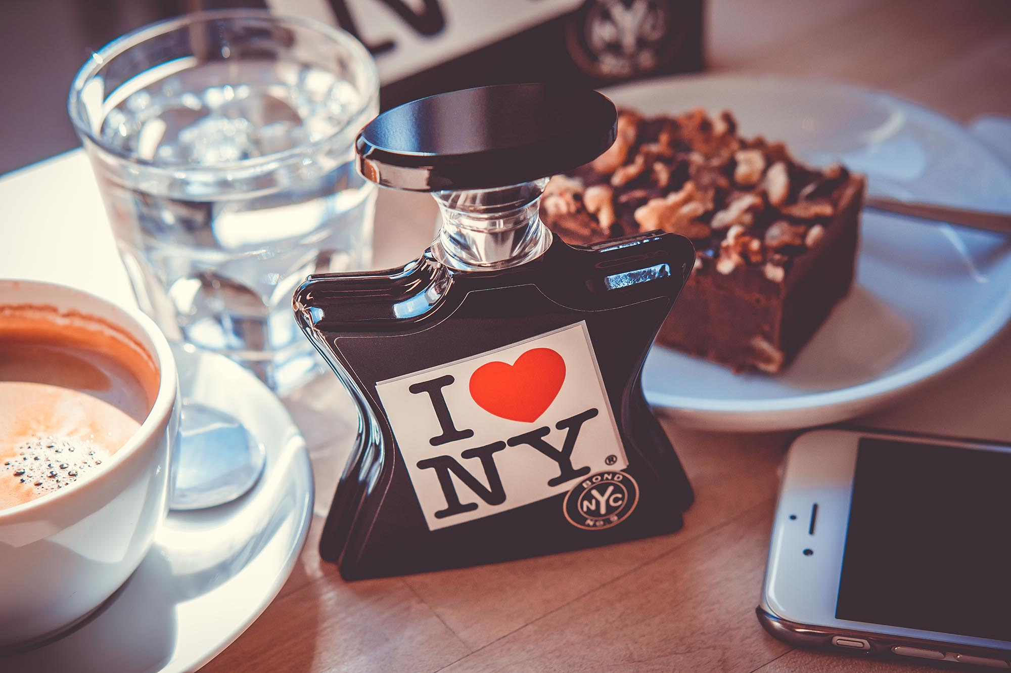 Bond No. 9 I Love NY for all perfume niche fragrance coffee scent cafe gourmand Parfüm Duft Nischenparfüm нишевый парфюм аромат парфюмерия кофе Kaffee Cafe
