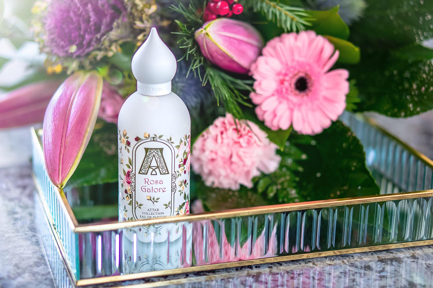 Rose der Jugend: Rosa Galore von Attar Collection