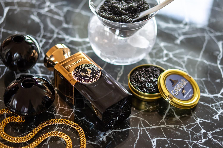 Духи из черной икры? Black Caviar от Electimuss London
