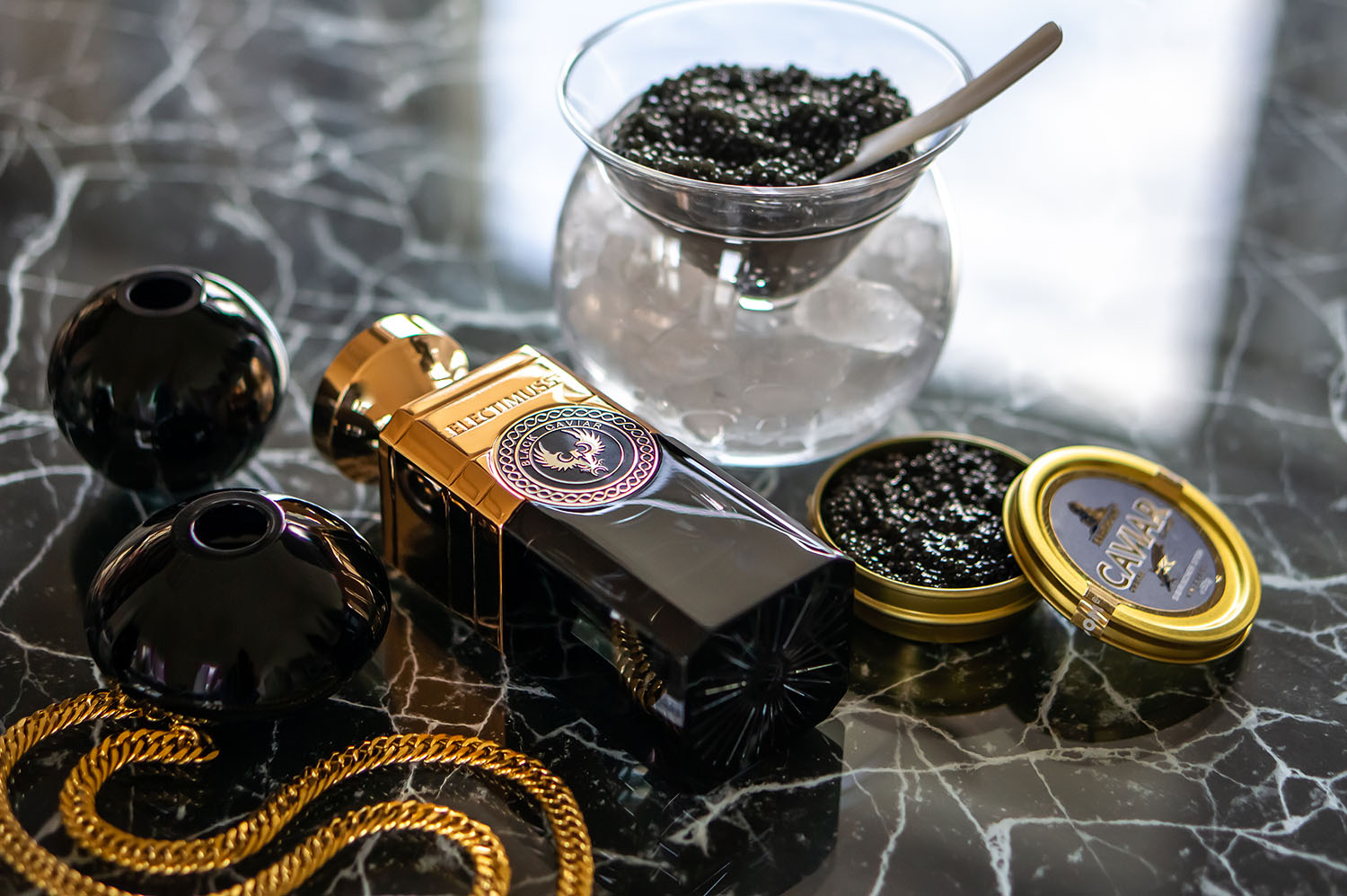 Black Caviar as a perfume, can it work? Electimuss London review