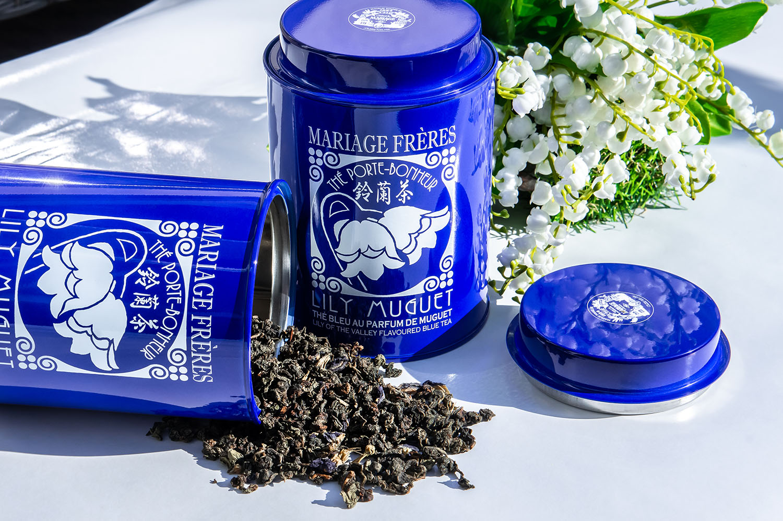 Blue tea magic: Lily Muguet from Mariage Freres