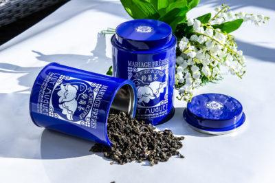 Mariage Freres Lily Muguet blue tea blauer tee синий чай oolong улунь