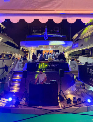 M. Micallef yacht party TFWA 2019