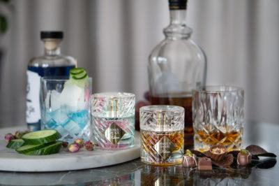 Kilian Roses on Ice & Angel's Share perfumes
