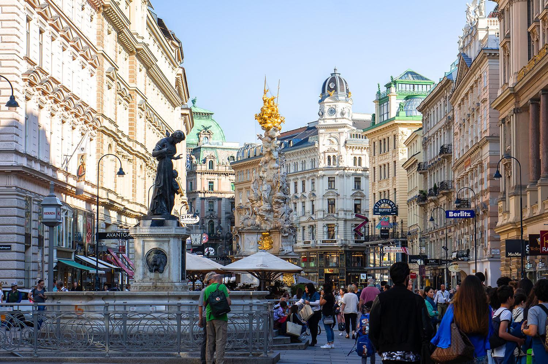 Vienna Graben Street