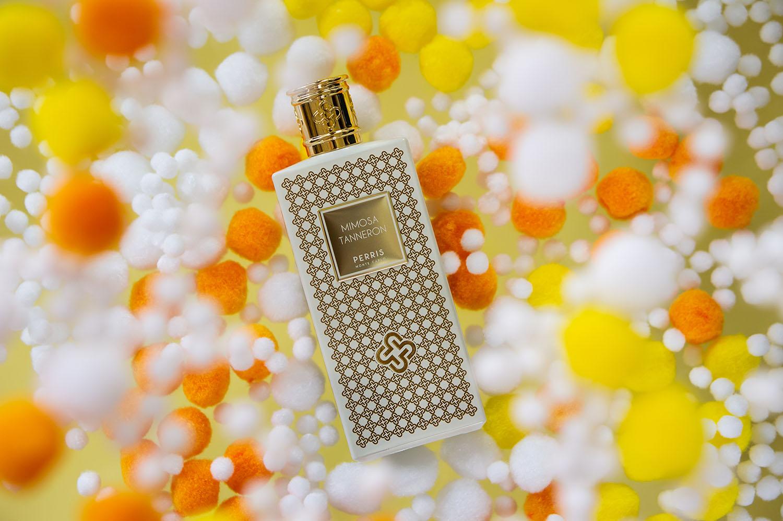 Favorite Mimosa perfume: Mimosa Tanneron from Perris Monte Carlo